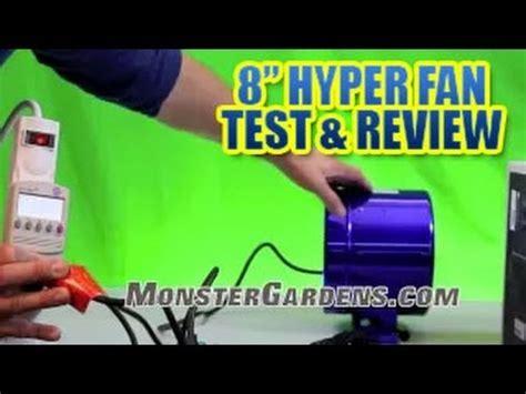 hyper fan 10 inch 8 inch hyper fan by phresh test review smallest
