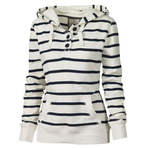 Striped Hoodie fashionable sleeves striped hoodie for in