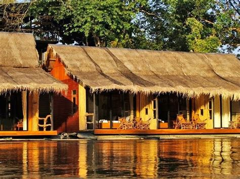 Raft Cabins by