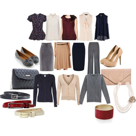 Clothing Capsule Wardrobe by Quot Business Casual Capsule Wardrobe Quot By Clockworklolita On