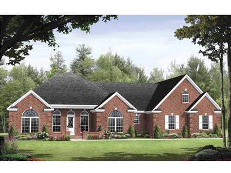 traditional house designs eplans traditional house plan functional split floor plan layout 1955 square and 3