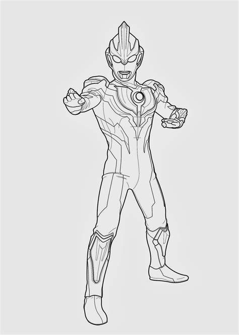 Gambar Lukisan Ultraman | Cikimm.com