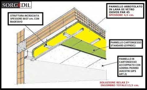 insonorizzazione soffitto foto insonorizzazione soffitto de imp edile tot 242