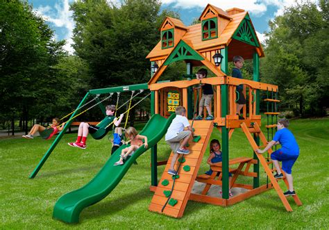 gorilla swing set clearance home swing set paradise