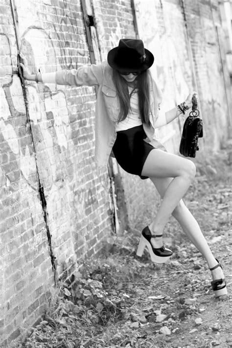 Micci Fashion Blouse Lamoda Bw look of the day quot vintage hat quot stylescrapbook