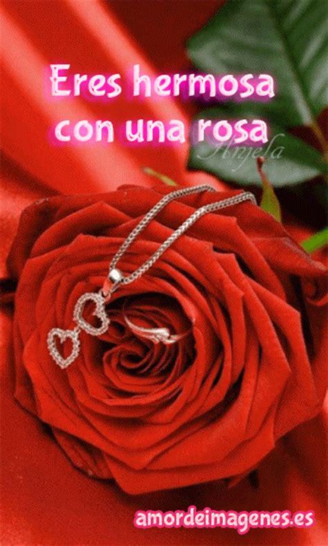 imagenes de hola con rosas rosas en movimiento