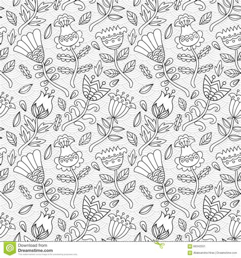 pattern background sketch decorative seamless background pattern with contour