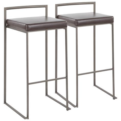 Fuji 2 Set lumisource fuji barstool set of 2