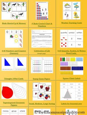 montessori printable resources free printable montessori materials for montessori