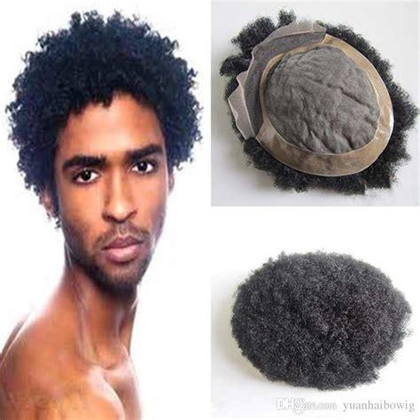 lace hair lines for men 2018 men short hair cut 6inch black color high quality