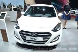 hyundai i30 go front at the 2016 geneva motor show