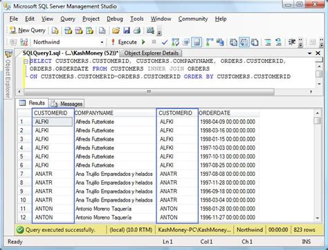 Join Tables In Sql by Slacker Dba May 2010
