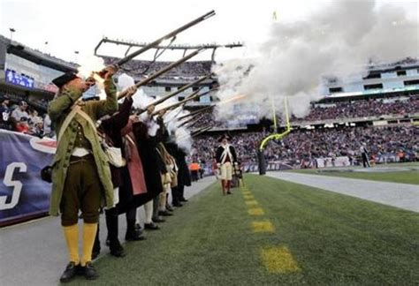 duck boat gillette patriots end zone militia banned from boston victory