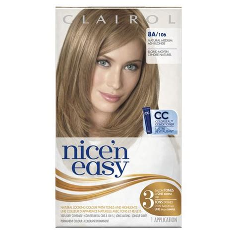 how to use nice n easy hair color clairol nice n easy hair colour 1 kit walmart ca