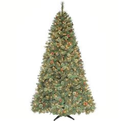 martha stewart led tree not working martha stewart living 7 5 ft pre lit led snowy fir artificial tree with pine cones