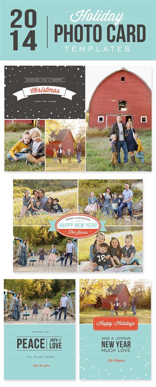 free photo card templates 2014 diy photo cards using digital templates