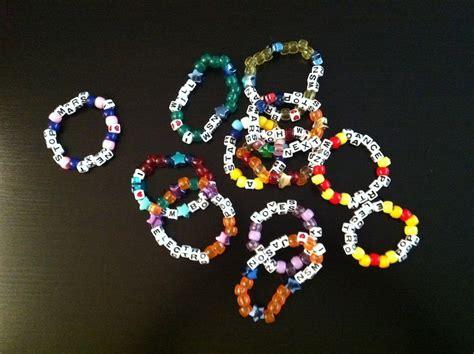 next stop mars kandi bracelets