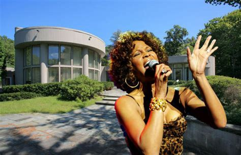 whitney houston house whitney houston s estate sues realtor to get singer s property news one