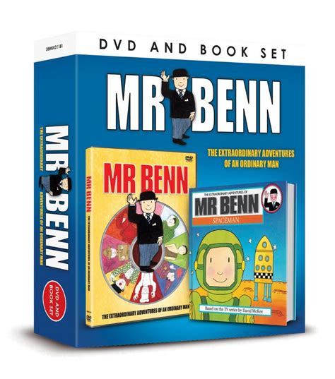 me and mister p books mr benn dvd and book set