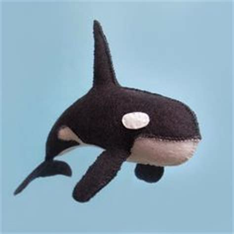 felt orca pattern whale pattern killer whales and whales on pinterest