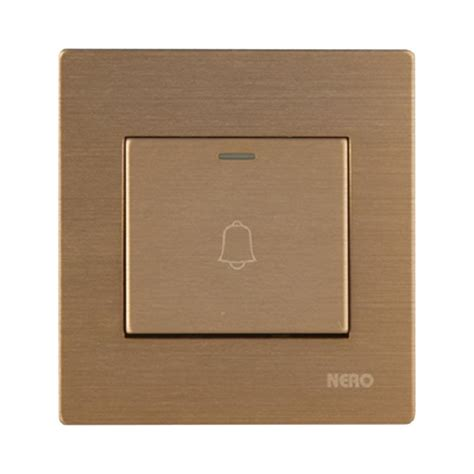 Saklar Bell jual nero v101013 g titanium saklar listrik gold 1
