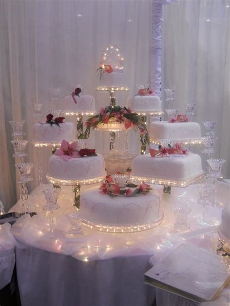Cupcake Chandelier Stand Illuminated Cake Display United Products Llc