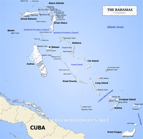map of us showing bahamas bahamas map geographical features of bahamas of the