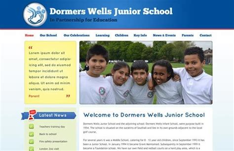 Dormers Well Junior School problem with retrieving this school website