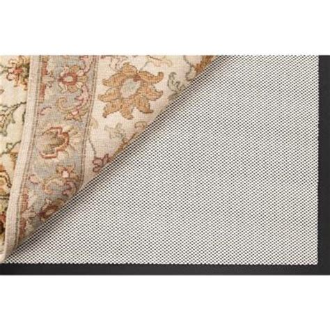 rug pad home depot artistic weavers strength 6 ft x 9 ft rug pad strength l the home depot