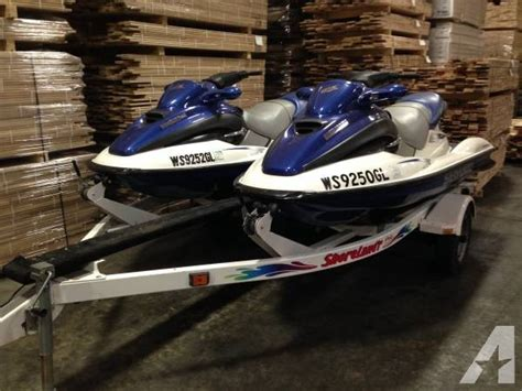 do sea doo boats have reverse 2 sea doo gtx 3 seaters jet ski s and trailer for sale