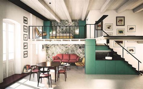 space savvy italian home delights   nifty mezzanine