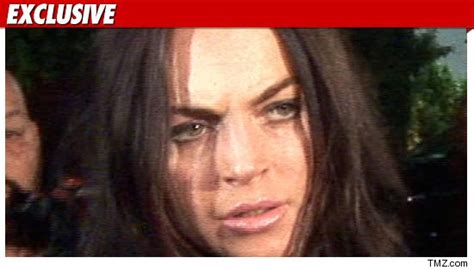 Coke Found In Lindsay Lohan Dui Invesitagation by Lindsay Lohan Back To Really Cocaine Tmz