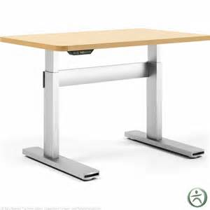 adjustable height desk shop steelcase series 7 electric height adjustable desk