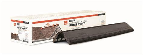 ridge vent vs attic owens corning ventilation products include a ridge vent