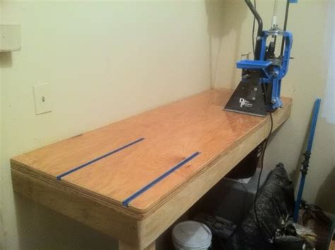 t track reloading bench pics of your workbench reloading bench shop page 5