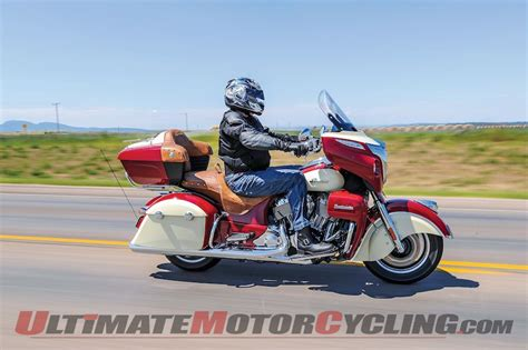 2015 Indian Roadmaster Test   Flying a New Flag