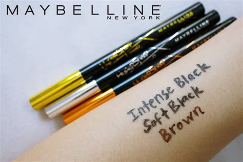 Maybelline Hyper Sharp Eye Liner Spidol Ori Eyeliner Runcing Tipis malaysian lifestyle maybelline hypersharp liner laser precision