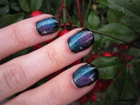 galaxy nail art tutorial easy out of this world galaxy nail art tutorial youtube