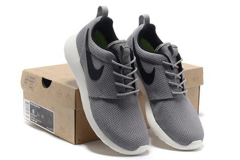 nike roshe trainers shoes black gray mormon gender