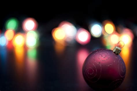 photo of colourful christmas lights bokeh free christmas