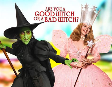 A Or Are You A Witch Or A Bad Witch Quiz Zimbio