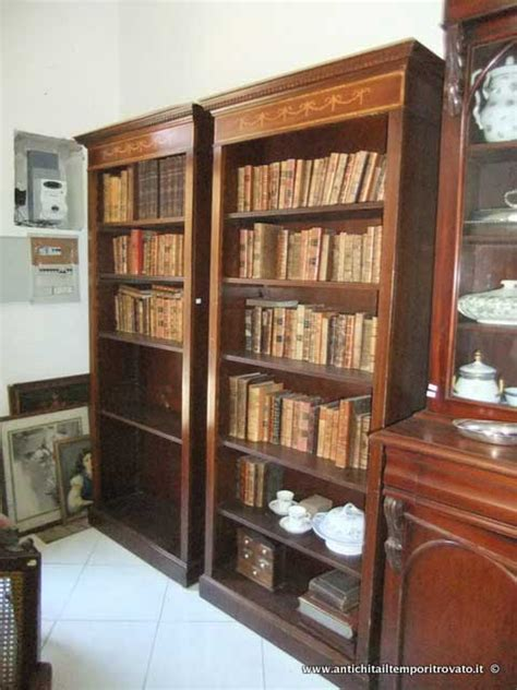 librerie antiche antichit 224 il tempo ritrovato antiquariato e restauro