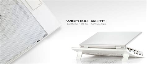 Promo Deepcool Wind Blade White Led With Hydro Bearing Fan 12 wind pal white deepcool laptop coolers