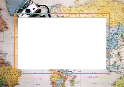 map picture frame map of world frame free stock photo domain pictures