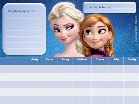 printable frozen sticker chart frozen reward chart hot girls wallpaper