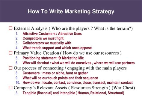 What Is An Mba In Strategy by Marketing Plan How To Write The Bokus X Fc2