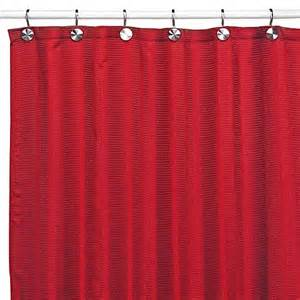 Wash Shower Curtain Westerly Red Fabric Shower Curtain Bedbathandbeyond Com
