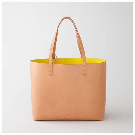 Cadavre Bag mansur gavriel large leather tote all things pretty
