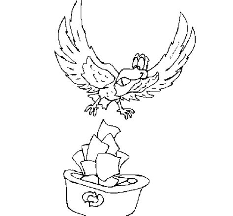 eagle mask coloring page free coloring pages of eagle mask