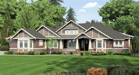 1 Story Homes by Featured House Plans One Story Plans The House Designers